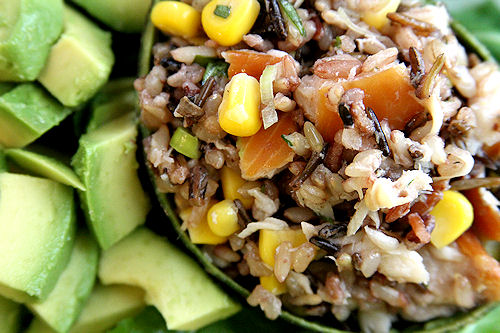 Wild Rice Smoked Trout Salad A Cup Of Sugar A Pinch Of