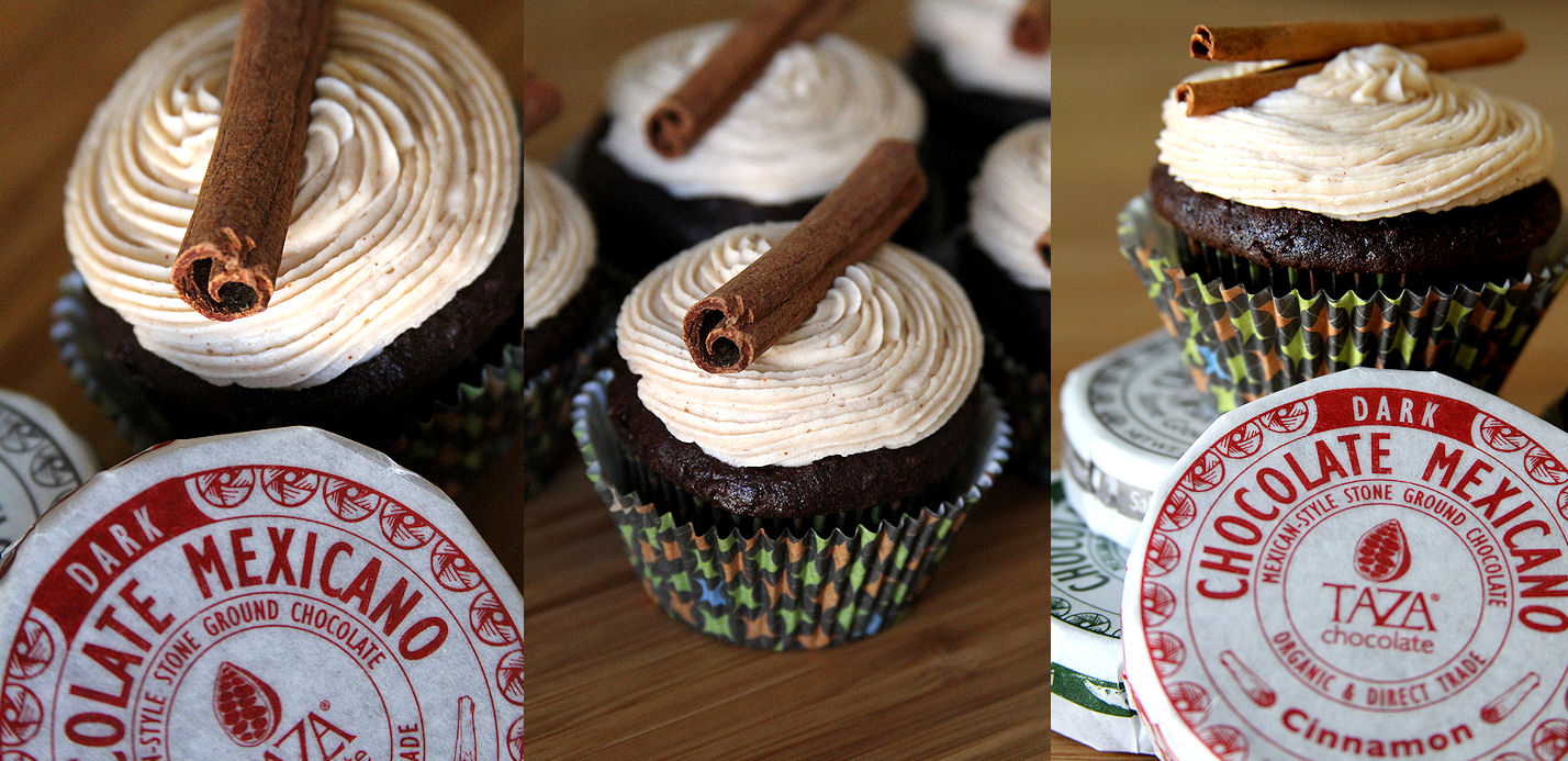 Mexican Hot Chocolate Cupcakes, Spicy Cinnamon Frosting – A Cup of ...