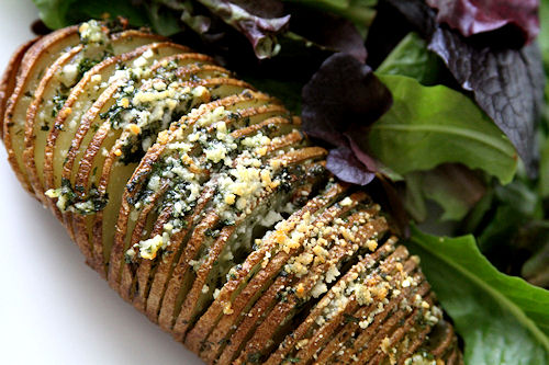 Hasselback Potatoes – A Cup of Sugar … A Pinch of Salt
