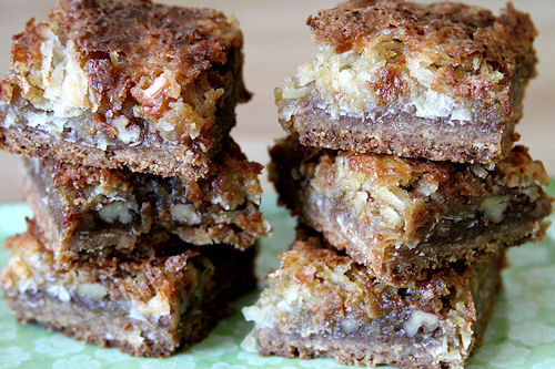 ATK's Coconut Pecan Dream Bars – A Cup of Sugar … A Pinch of ...
