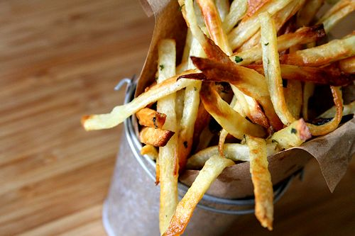Garlic and Herb Matchstick French Fries – A Cup of Sugar … A Pinch ...