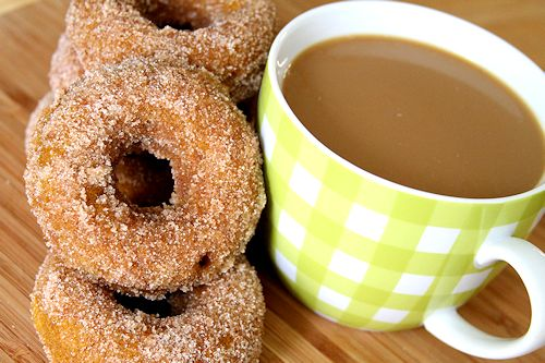 Baked Pumpkin Spice Doughnuts – A Cup of Sugar … A Pinch of Salt