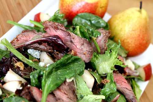 grilled steak and tomato salad with rum vinaigrette seared skirt steak ...