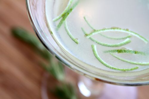 Rosemary Lime Gimlet – A Cup of Sugar … A Pinch of Salt