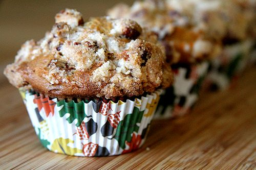 Cranberry Carrot Cake Muffins with Pecan Streusel – A Cup of Sugar ...