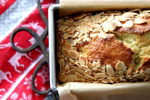 Cardamom Vanilla Pound Cake, with Almonds – A Cup of Sugar … A ...