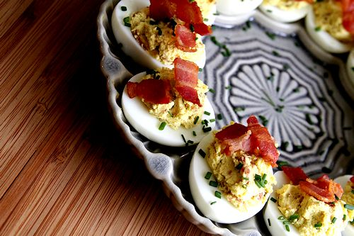 Boursin-Bacon Deviled Eggs – A Cup of Sugar … A Pinch of Salt
