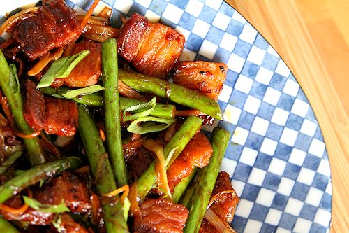 Crispy Pork Belly and Garlic Scape Stir Fry – A Cup of Sugar … A