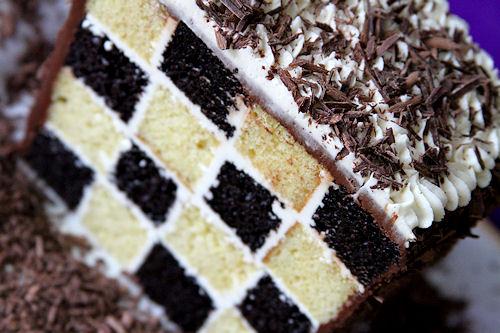 Checkerboard Cake Ings